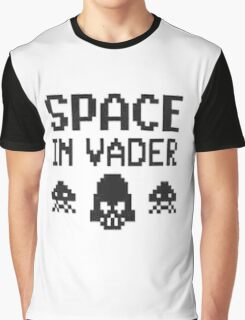 Space in-vader Graphic T-Shirt