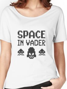 Space in-vader Women's Relaxed Fit T-Shirt