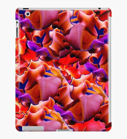 Pop Art Botania -Purple/Peach iPad Case/Skin