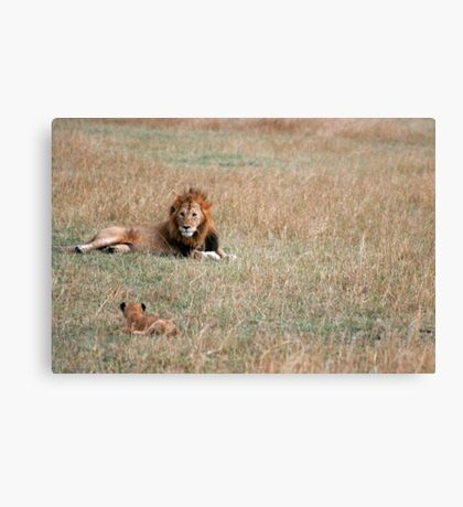 Who's The Boss ? Canvas Print