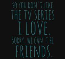we can't be friends, bye by FandomizedRose