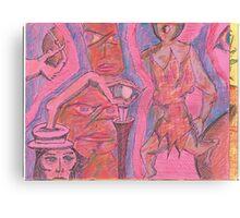 cane sword Canvas Print