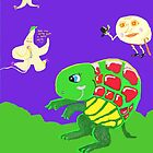 Turtle Moon Dance by pinkyjainpan