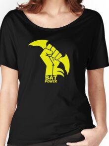 BATMAN POWER - BLACK POWER - BAT POWER Women's Relaxed Fit T-Shirt