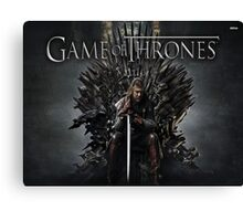 Game of Throne Canvas Print