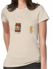 Zombie Pasta ! Womens Fitted T-Shirt