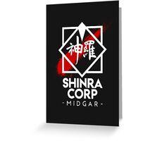 Shinra Corp - Midgar Greeting Card