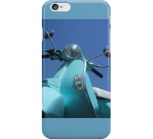 Vespa-1 iPhone Case/Skin