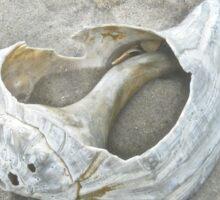 Sculpture by the Atlantic Ocean Sticker