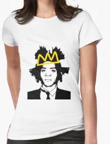 Basquiat 3 Womens Fitted T-Shirt