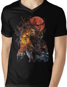 The Witcher 3 Mens V-Neck T-Shirt