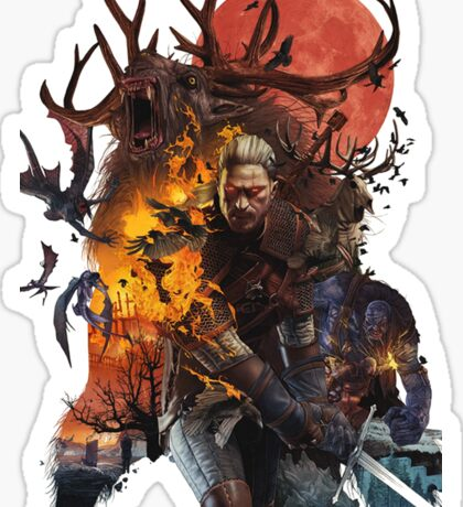 The Witcher 3 Sticker
