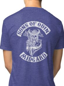 Sons Of Odin - Midgard Chapter Tri-blend T-Shirt