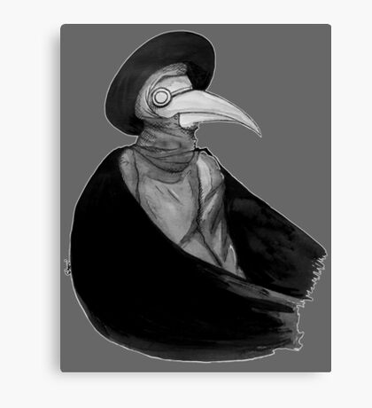 Plague Doctor Canvas Print