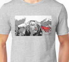 Suicide in Black & White Unisex T-Shirt