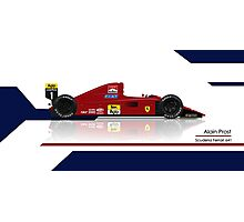 Alain Prost - Scuderia Ferrari 641 Photographic Print