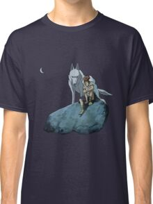 Princess Mononoke at night Classic T-Shirt