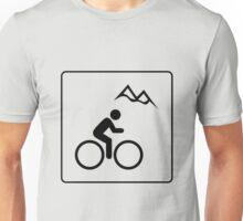 Mountain Biking Icon Unisex T-Shirt