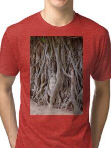 Thailand - Ayutthaya Historical Park - Wat Phra Mahathat Tri-blend T-Shirt