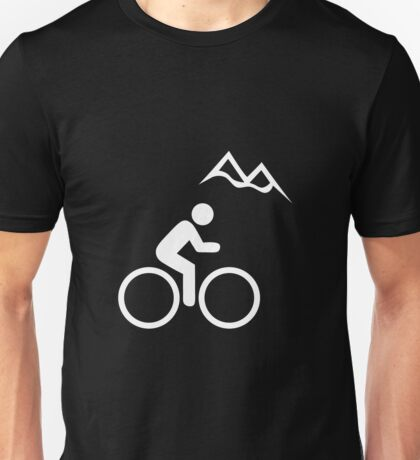 Mountain Biking Icon Unisex T-Shirt