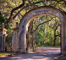 Wormsloe Plantation Gate by joancarroll