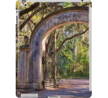 Wormsloe Plantation Gate iPad Case/Skin