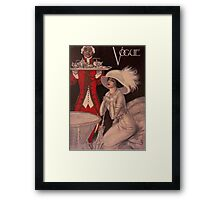 Vogue 1909 Framed Print