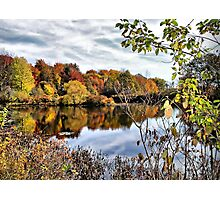 Fall at Tinker's Creek Photographic Print
