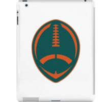 Vector Football - Dolphins iPad Case/Skin