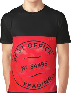Vintage Post Office Graphic T-Shirt