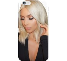 Blonde Kim Kardashian West  iPhone Case/Skin