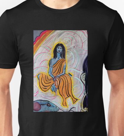 Cloud Yogi 3 (from Chalk Meditation #9) - May 2006 Unisex T-Shirt