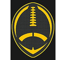 Vector Football - Steelers Photographic Print