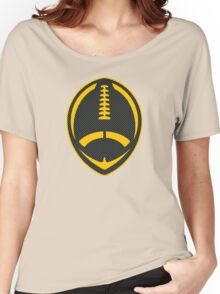 Vector Football - Steelers Women's Relaxed Fit T-Shirt
