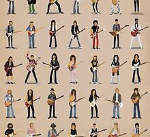 Cartoon Guitarists by Boomhauer