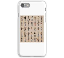 Cartoon Guitarists iPhone Case/Skin
