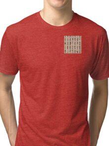 Cartoon Guitarists Tri-blend T-Shirt