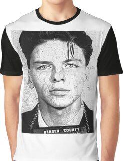 Sinatra mugshot Graphic T-Shirt
