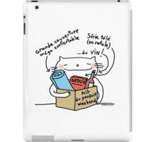 Kit du parfait Weekend / Cat (and French) doodle iPad Case/Skin