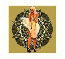 Lindsay Marilyn Lace Art Print
