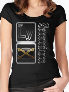 Lemmium...a heavy metal element Women's Fitted Scoop T-Shirt