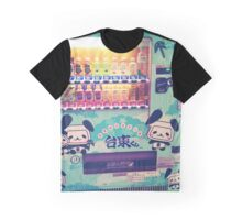 Panda Soda Machine Graphic T-Shirt
