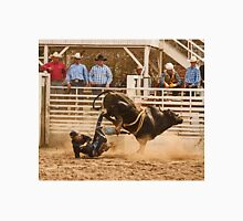 Rodeo Cowboy is Thrown from His Bull Classic T-Shirt