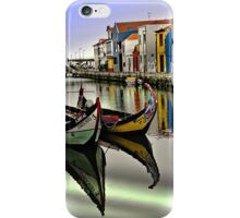 Two Boats in Aveiro iPhone Case/Skin