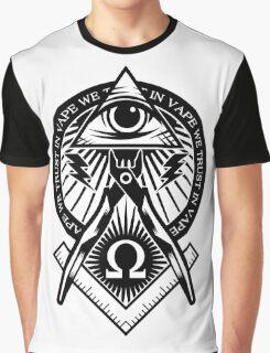 In Vape We Trust Graphic T-Shirt