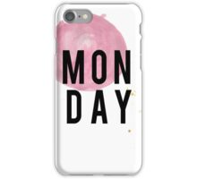 MONDAY iPhone Case/Skin