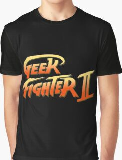Street Fighter II - Geek Fighter II Graphic T-Shirt