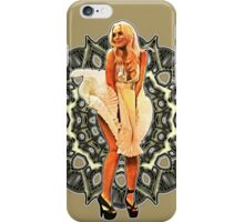 Lindsay Marilyn Lace White Glow iPhone Case/Skin