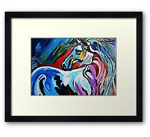 MR GORGEOUS Framed Print