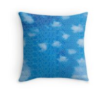 Nothing was the Bling Throw Pillow